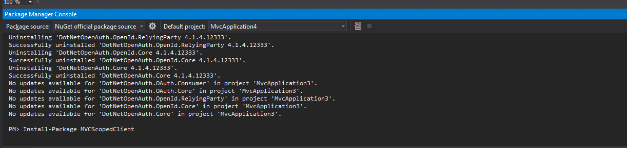 Install-package MVCScopedClient
