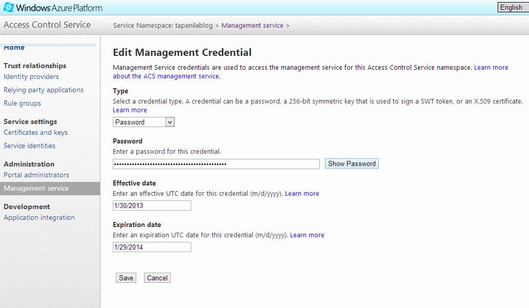AccessControlServiceManagementServicePasswordButton