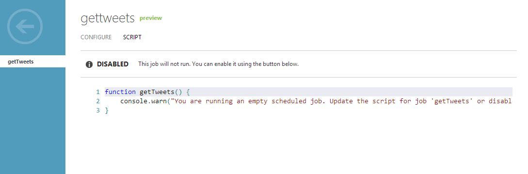 MobileServiceSchedulerScript