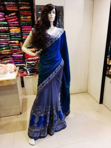 80381bce9f0 Zaina. Zaina is great store for party wear sarees and gowns.