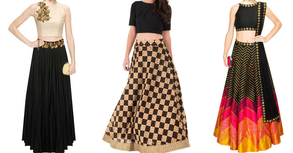 710d204aad96 ... Crop Top Lehenga Shops in Bangalore you must check out ...