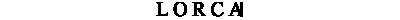 Lorca logotyp