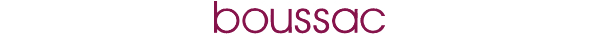 Boussac logotyp