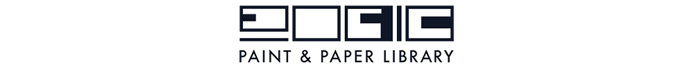 Paint & Paper Library logotyp
