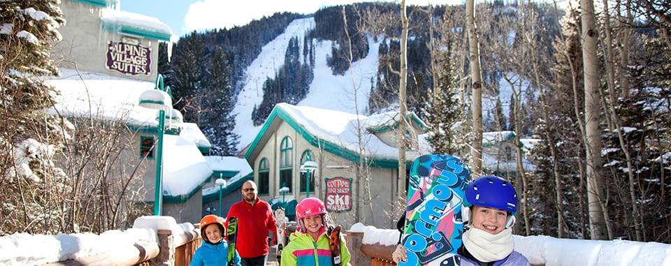 Fantastic location, steps from the the slopes of Taos Ski Valley