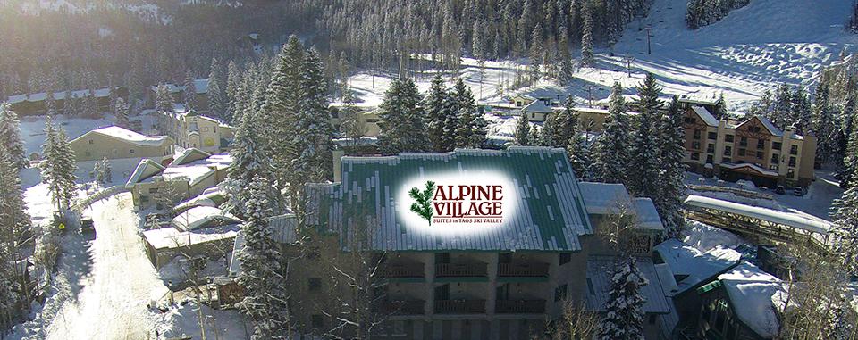 Alpine Village Suites from above