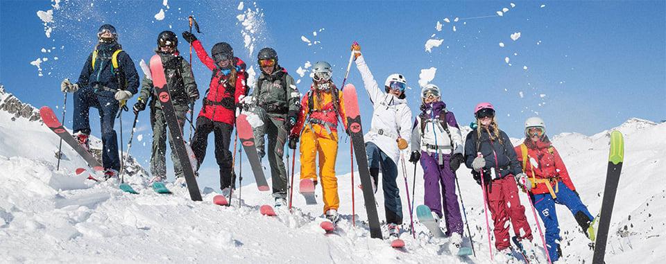 Winter fun on the slopes of Taos Ski Valley