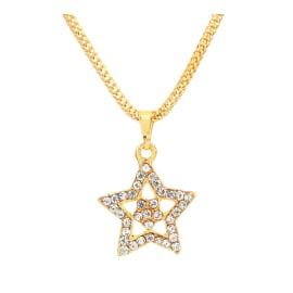 TulipMash BeautiFul Star  Shape Premium Locket For Girls & Womens (Pack Of -1)