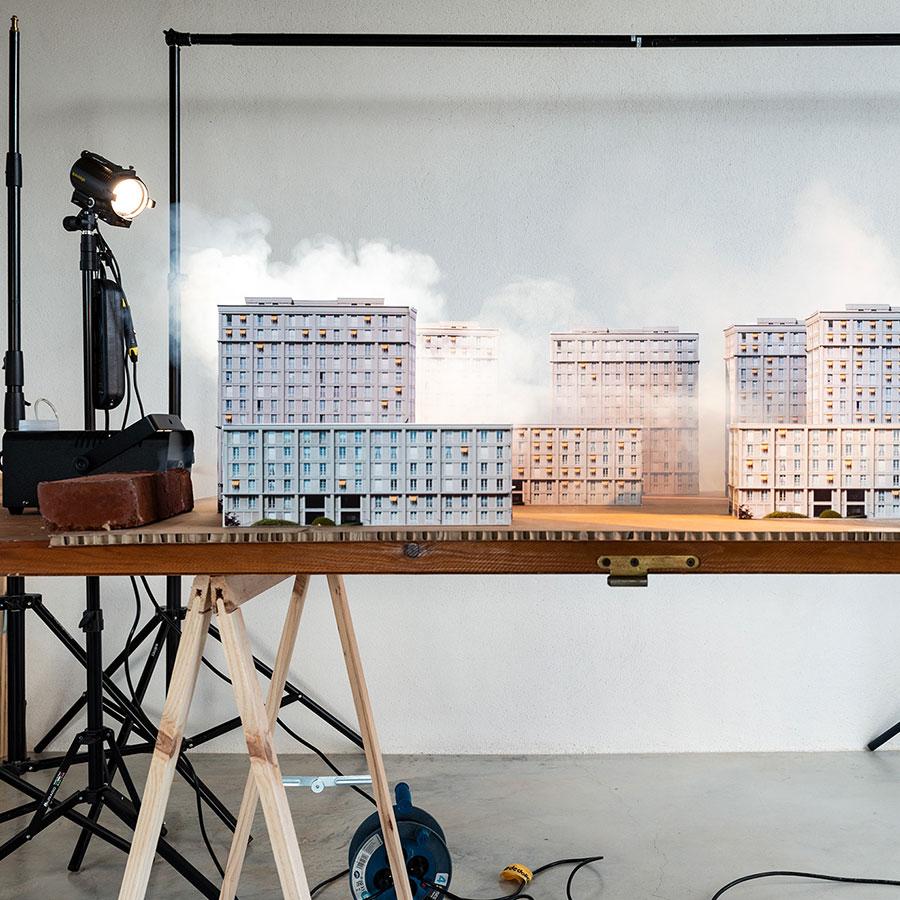 Ilka Kramer Diorama
