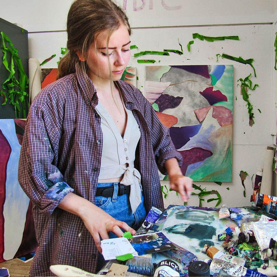 Alyssa Krause large abstract