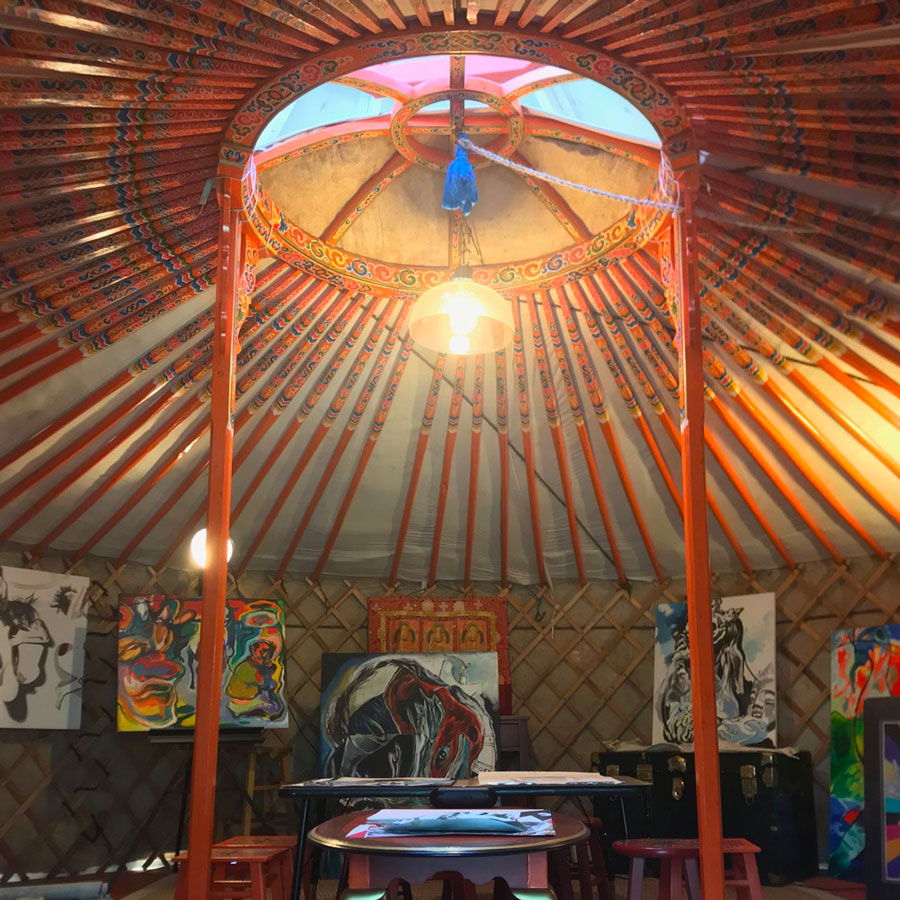 Tsogo Art Yurt