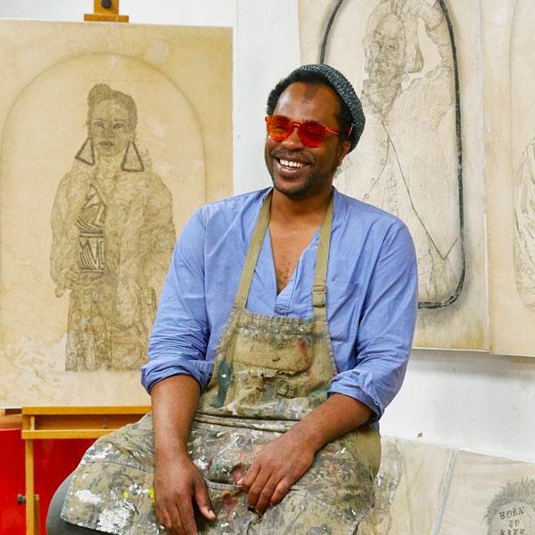 Artist Umar Rashid
