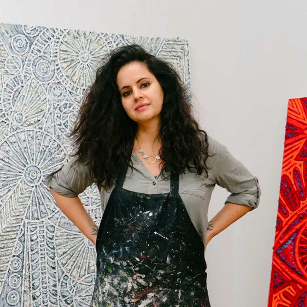 Painter Helen Rebekah Garber