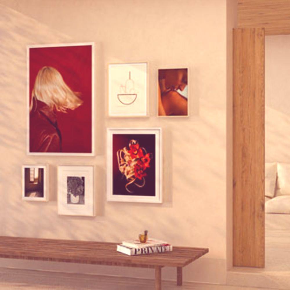 Bold & Decadent   Gallery Wall
