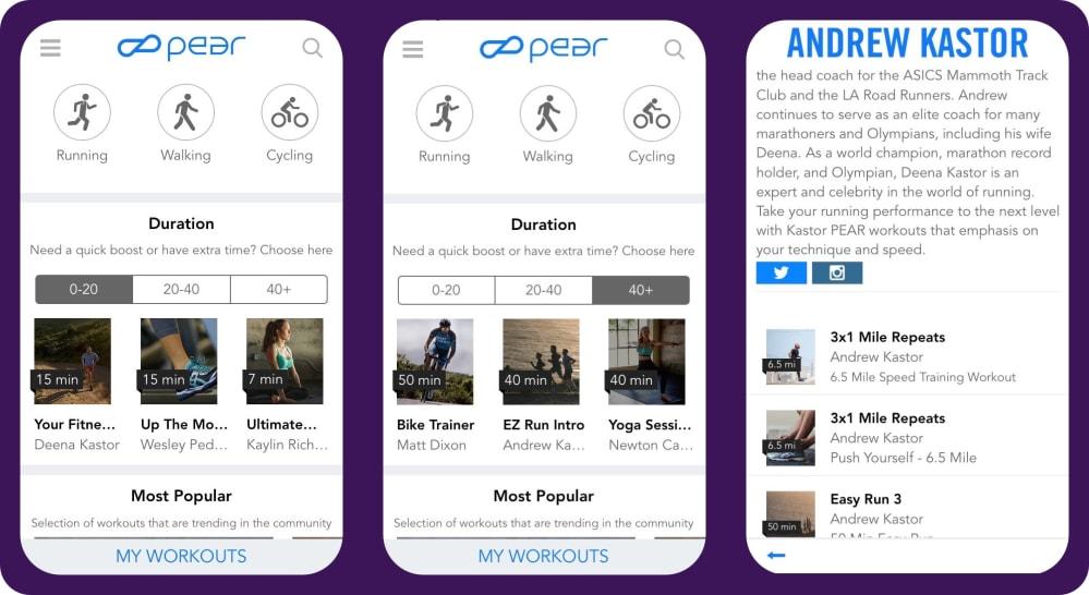 PEAR fitness app | tapptitude blog