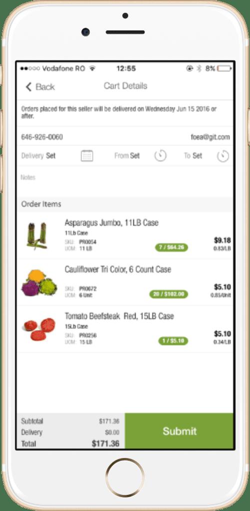 Dine Market - Cart Details