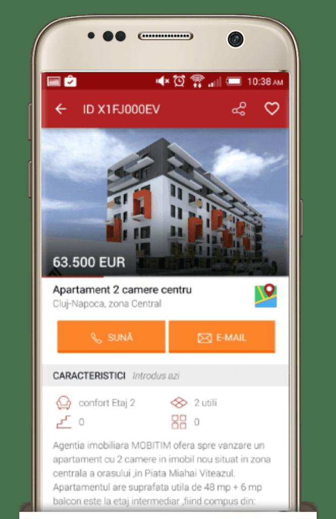Imobiliare.ro - Real estate application by tapptitude screen
