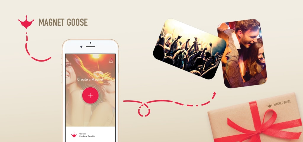 Magnet goose lets you immortalize the best moments of your life