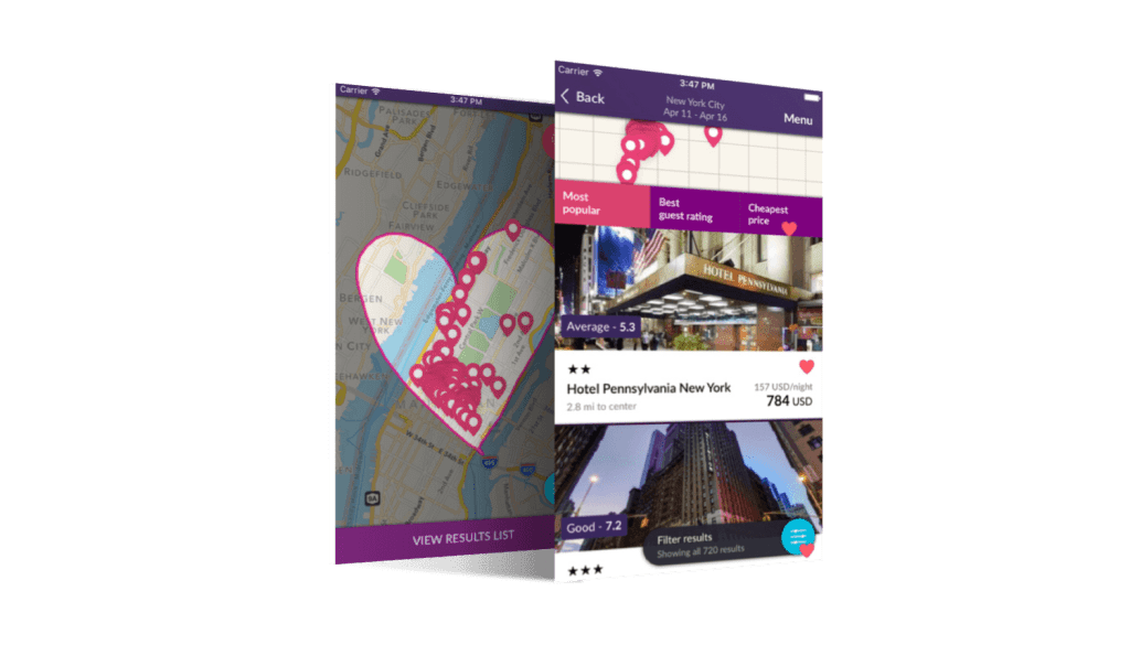 Hotel Booking in Momondo-tapptitudes-app-of-the-week