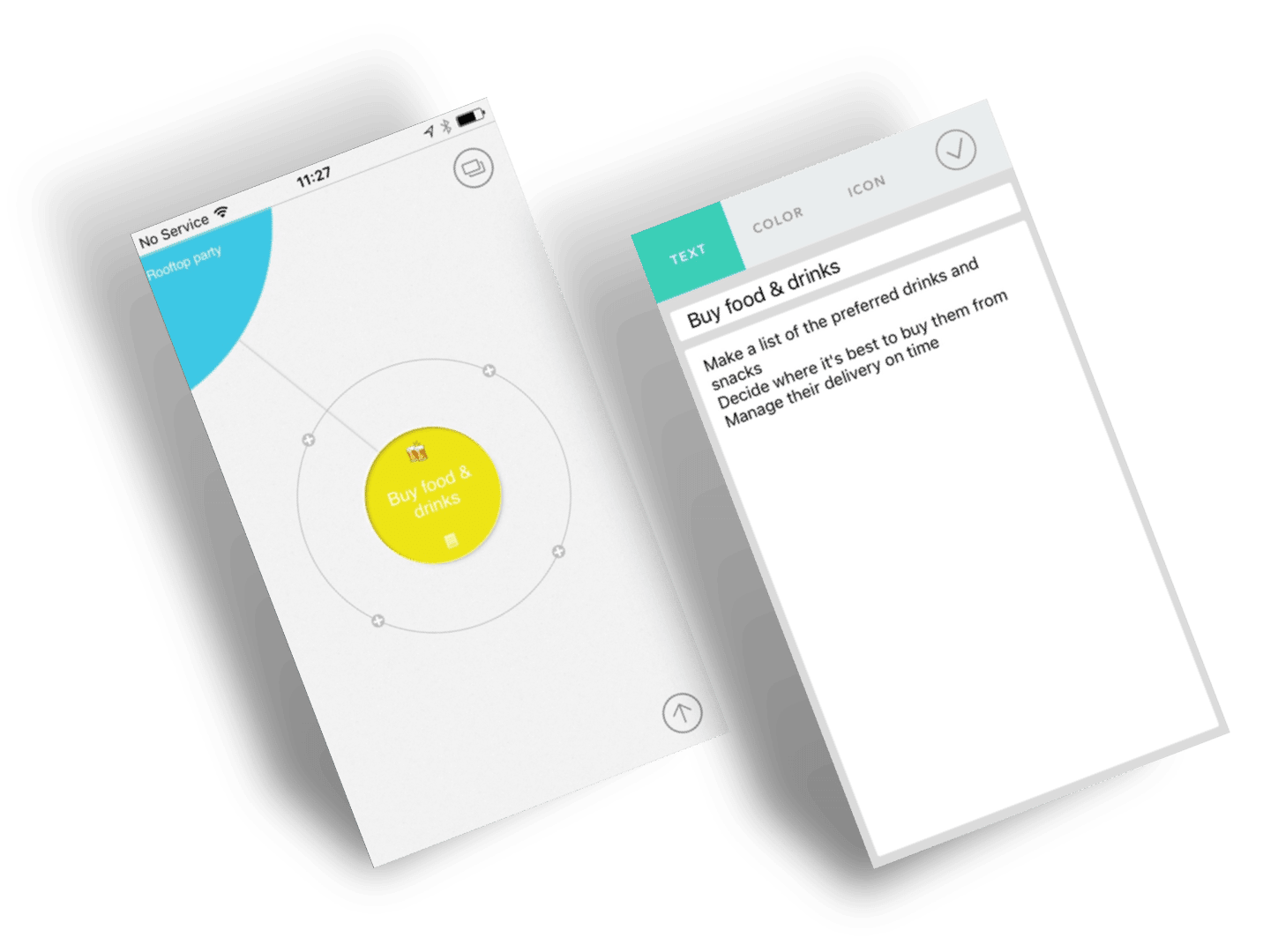 tapptitude App of the Week Mindly - the mind mapping iOS and Android app