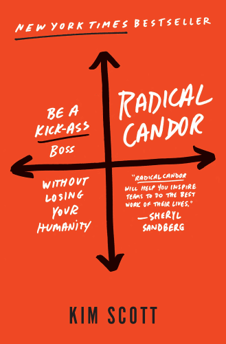 Cover of Radical Candor by Kim Scott | 25 book recommendations to make you a better entrepreneur - Tapptitude