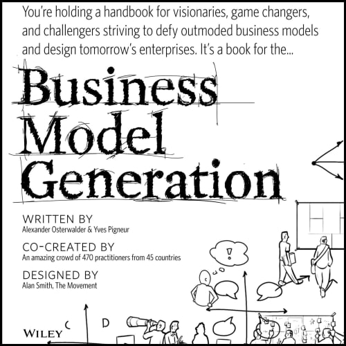 cover of Business Model Generation, by Alexander Osterwalder and Yves Pigneur | 25 book recommendations to make you a better entrepreneur - Tapptitude