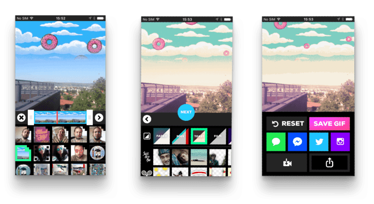 tapptitude's app of the week giphy cam gif creator mobile app