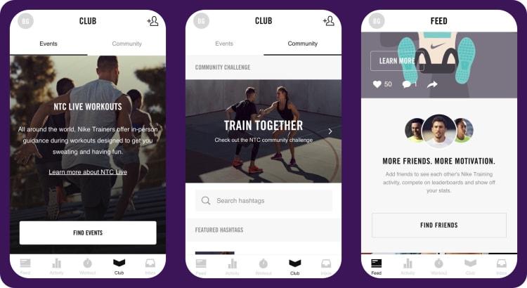 Nike Training Club app   tapptitude blog