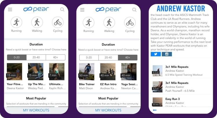 PEAR fitness app   tapptitude blog