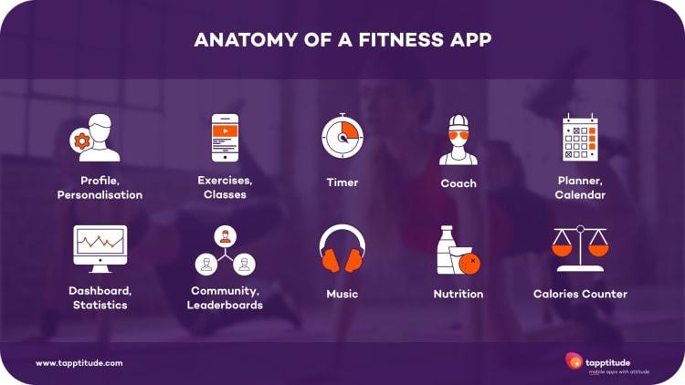 Anatomy of a fitness app   tapptitude blog
