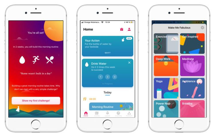 Fabulous app screenshots | Tapptitude