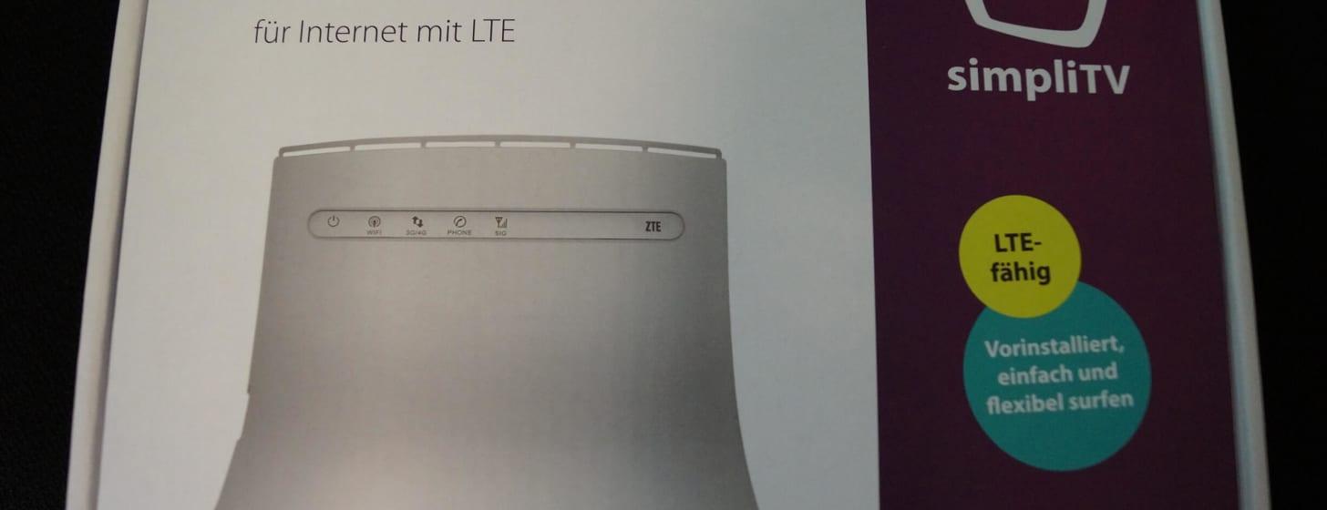 Test des simpliTV LTE Internets