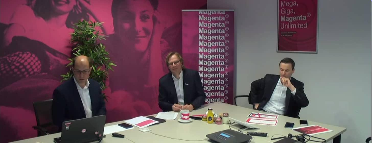 Magenta Jahrespressekonferenz – Ergebnisse 2020