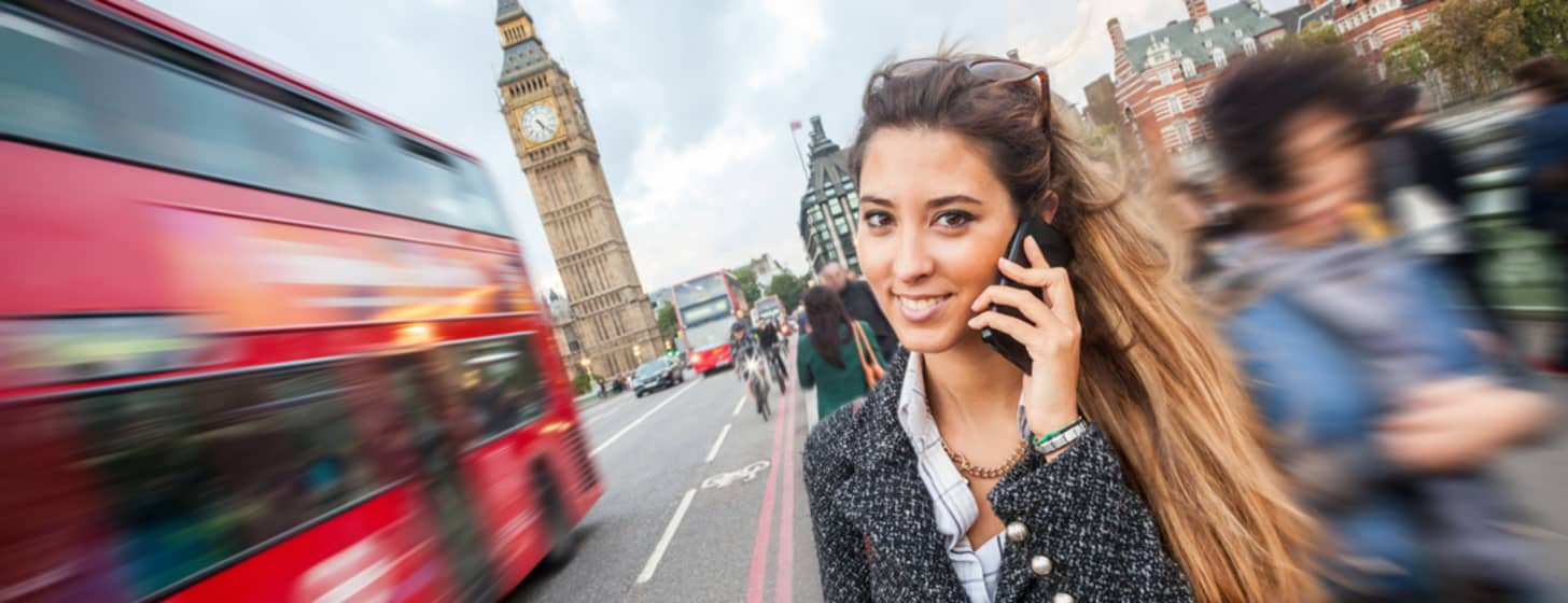 Handy Brexit: Ab heute Roaminggebühren in Großbritannien