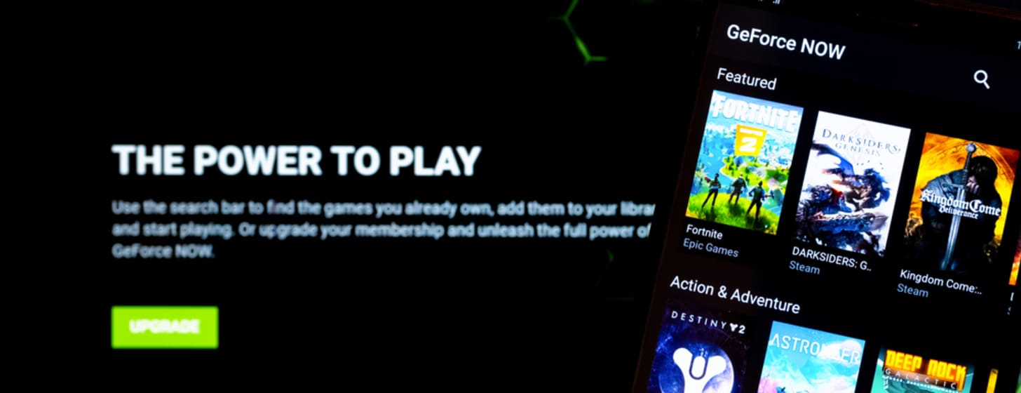 Cloud Gaming mit Nvidia GeForce Now