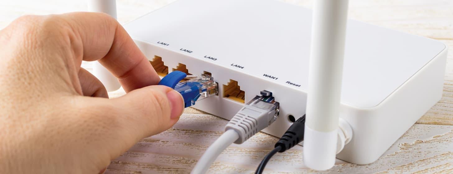 Internet über Telefonleitung