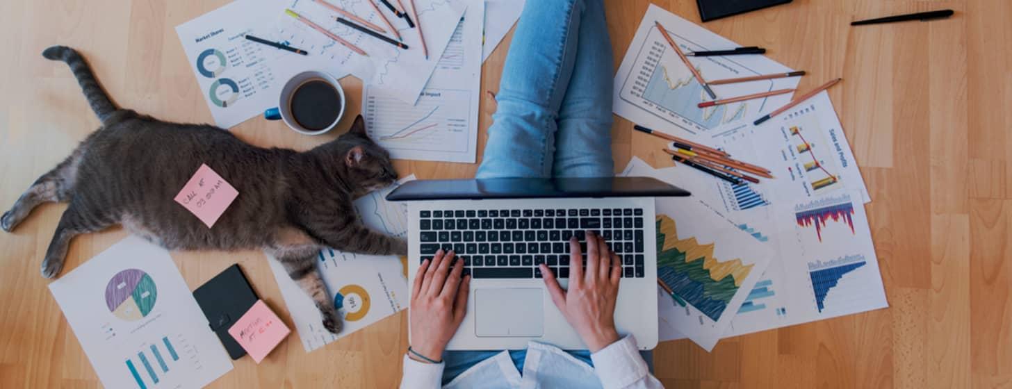 Home Office benötigt schnelle Internetverbindung