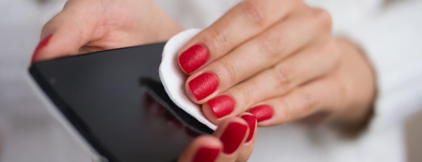 Hygiene für dein Handy
