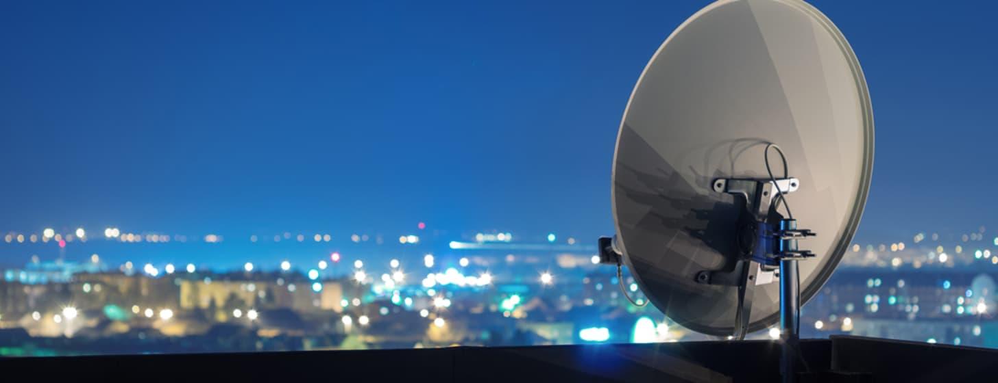 Fernsehen über Satellit