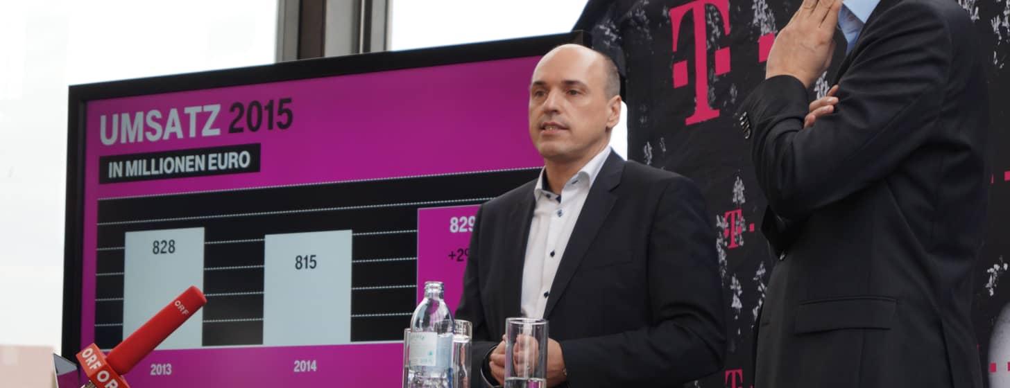 T-Mobiles Jahreskonferenz 2015