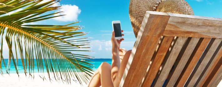 Handy im Urlaub - 8 Tipps