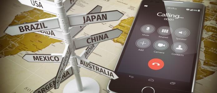 Telefonieren ins Ausland