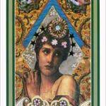 enchanted-tarot-pentacles-queen