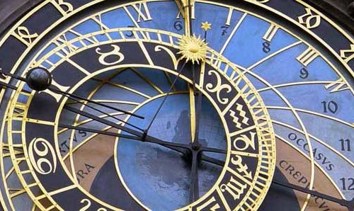 prague clock tarot astrology timing