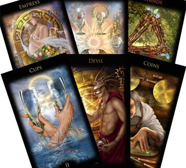 tarot elements daily tarot spread