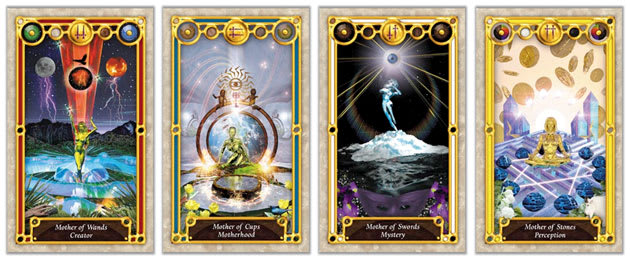 tarot court cards queens and mothers