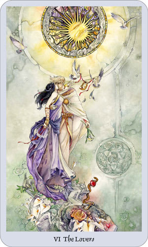 shadowscapes tarot the lovers