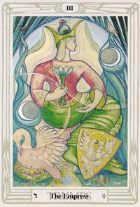 thoth tarot empress