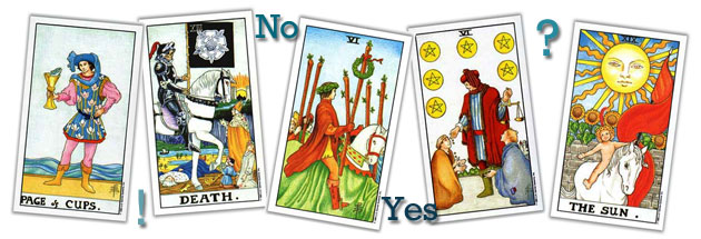 yes no tarot header