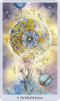 shadowscapes tarot wheel of fortune card